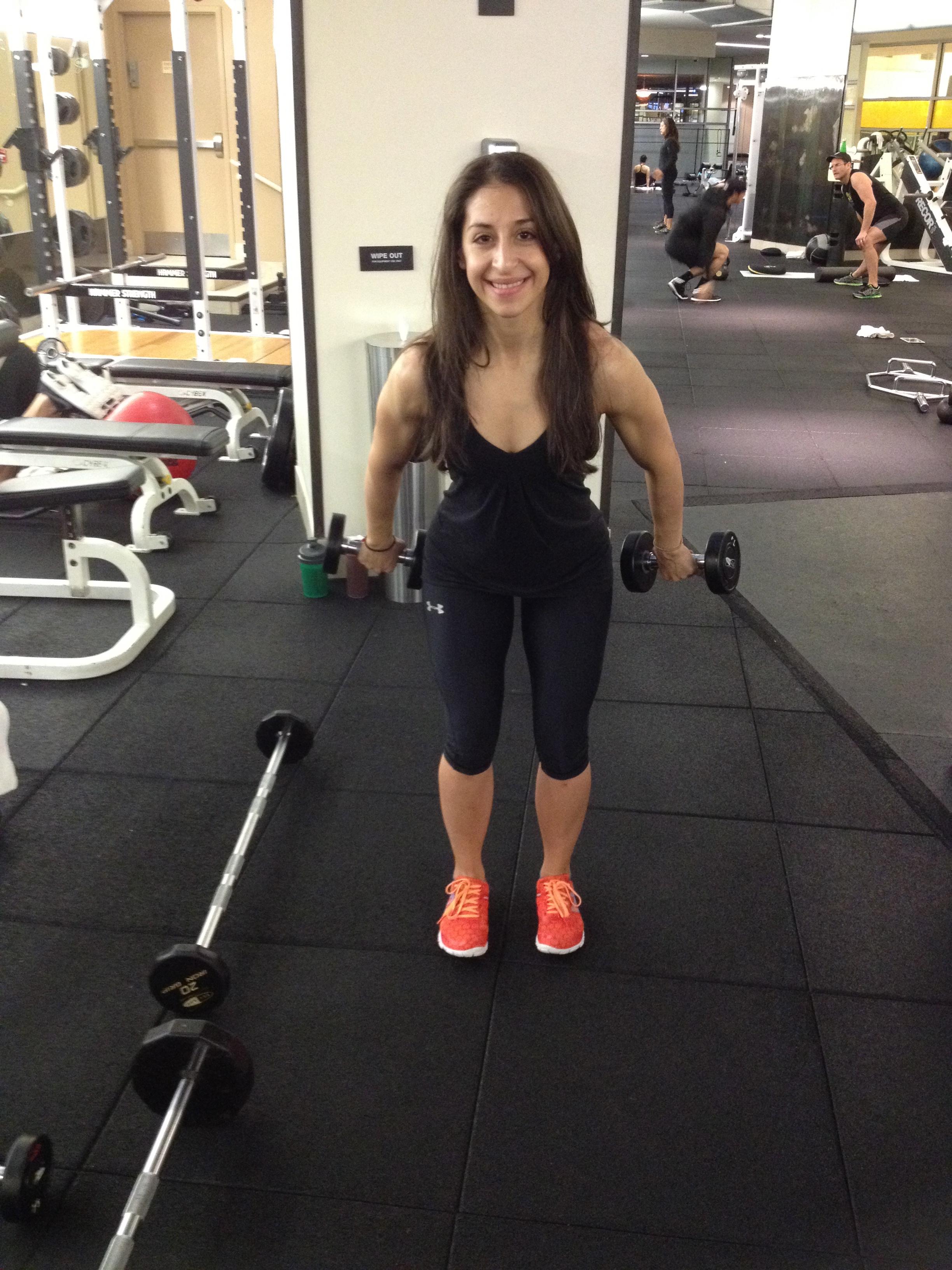 deload workout 2 shoulders steaks squats and sundresses